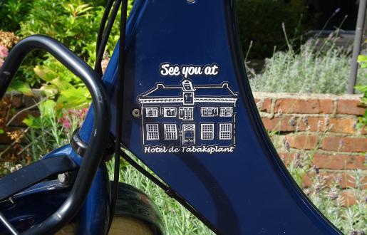 Stoere fiets huren bij Hotel de Tabaksplant in Amersfoort