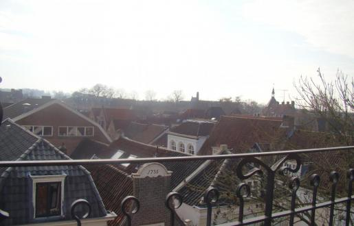vieuw long stay penthouse living room Hotel de Tabaksplant Amersfoort