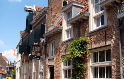 Stadstuin terras monumentale Hotel de Tabaksplant Amersfoort centrum