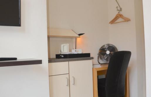 Small single, kleine knusse kamer 1 pers Hotel de Tabaksplant, eigen sanitair