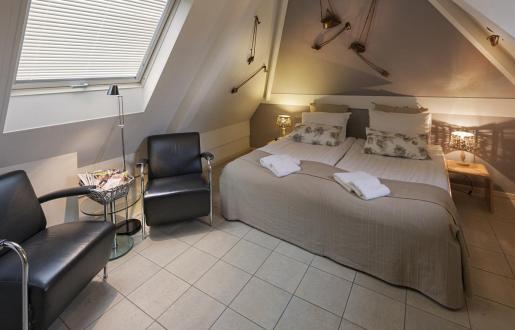 25 verschillende kamers in Hotel de Tabaksplant Amersfoort