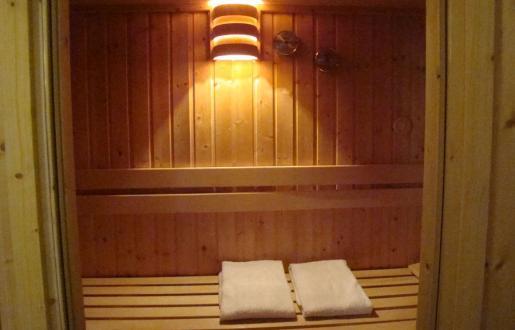 Suite sauna Hotel de Tabaksplant.