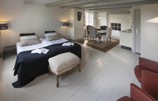hotel kamer als kantoor- hotel de Tabaksplant alle gemakken voorzien