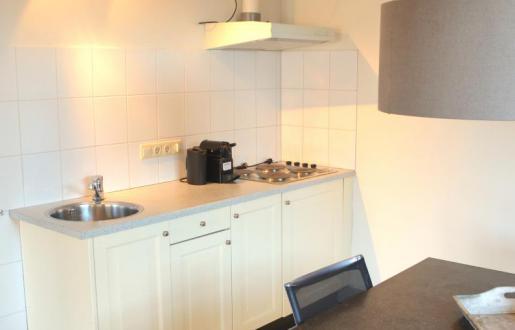 kookgelegenheid in de luxe tuinkamer hotel de tabaksplant amersfoort