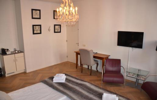 Hotel de Tabaksplant in Amersfoort - Suite Sauna en extra lang bed