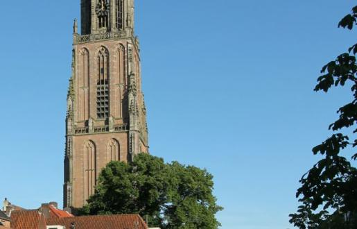 De mooiste toren van Nederland, kadastrale middelpunt ligt in Amersfoort