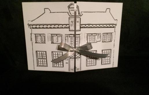 een cadeaubon met omschrijving van het cadeau ipv een geld bedrag
