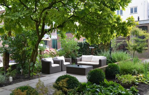 Vergaderen in een monumentaal pand Amersfoort met tuin