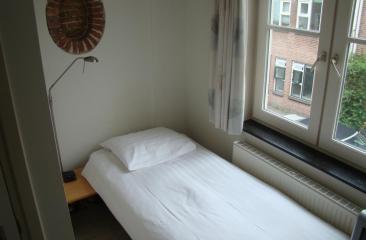 Cosy single room at Hotel de Tabaksplant Amersfoort