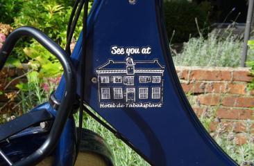 fiets arrangement met fietsen van Fiets Broers Hotel de Tabaksplant Amersfoort